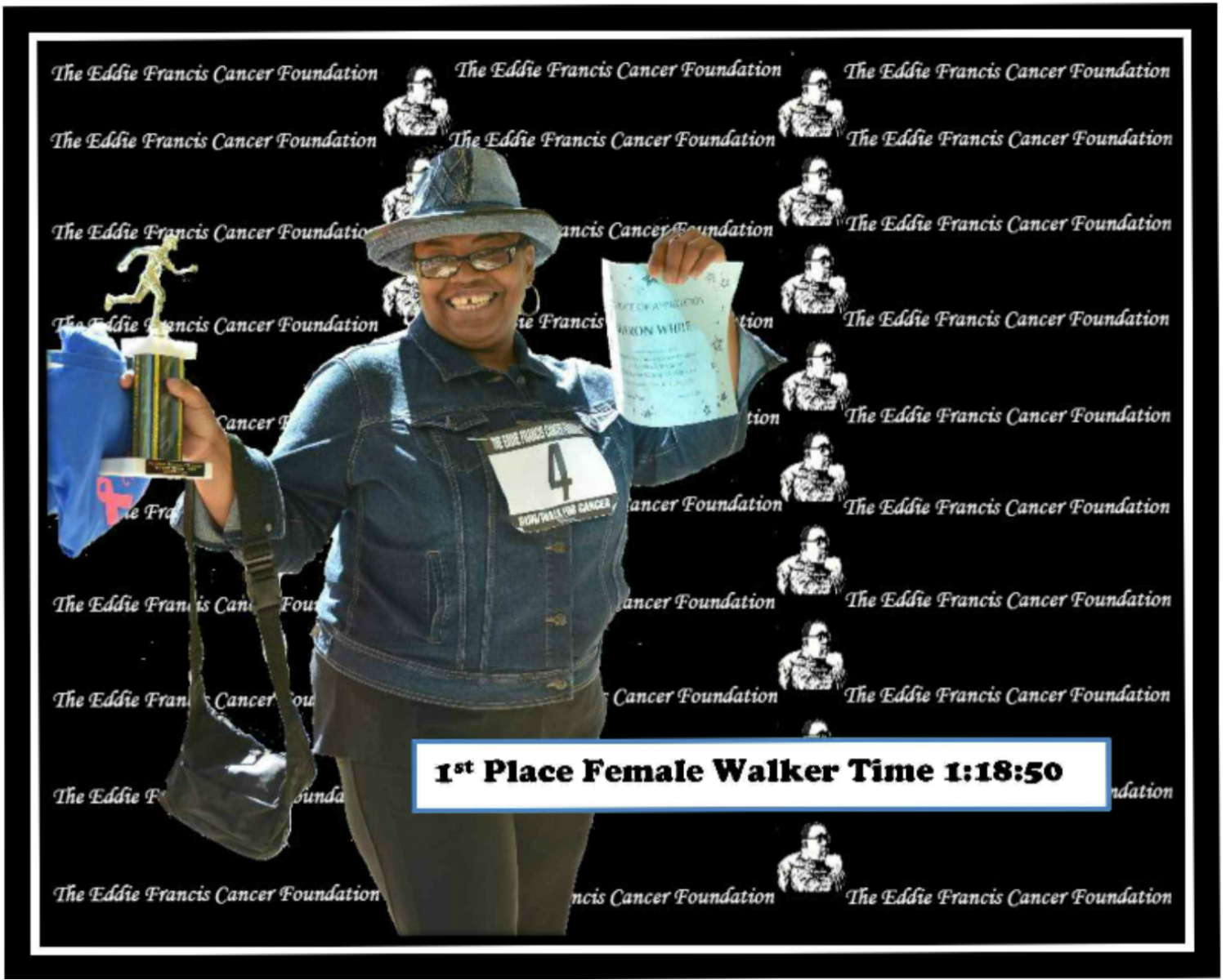 1st Place Female Walker