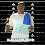 1st Place Male Runner